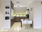 projekt Dom w akebiach Aranżacja kuchni 1 widok 1
