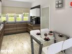 projekt Dom w akebiach Aranżacja kuchni 1 widok 2