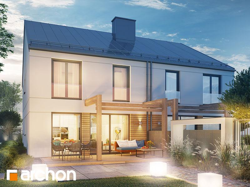 gotowy projekt Dom pod miłorzębem 12 (GR2) widok 1
