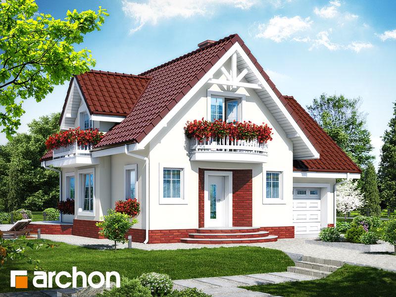 gotowy projekt Dom w antonówkach (G) widok 1