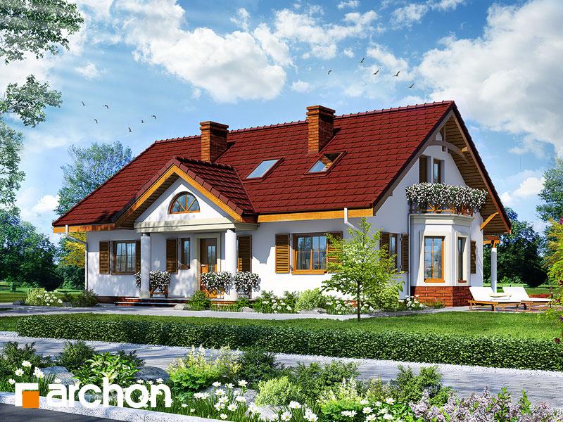 gotowy projekt Dom pod jarząbem 3 widok 1