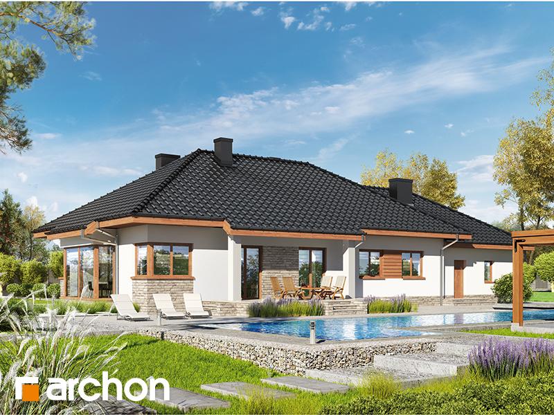 gotowy projekt Dom w gaurach 4 (G2N) widok 1