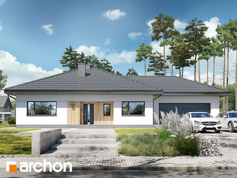 gotowy projekt Dom w mandevillach (G2) widok 1