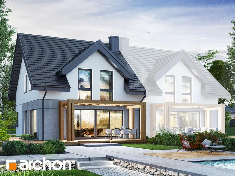gotowy projekt Dom w krynkach 2 (B) widok 1