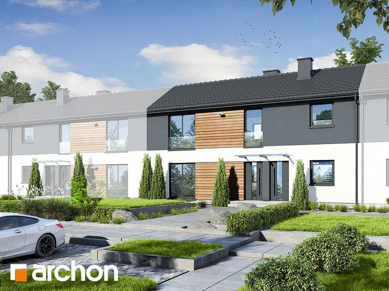 gotowy projekt Dom w iberisach (R2S) widok 1