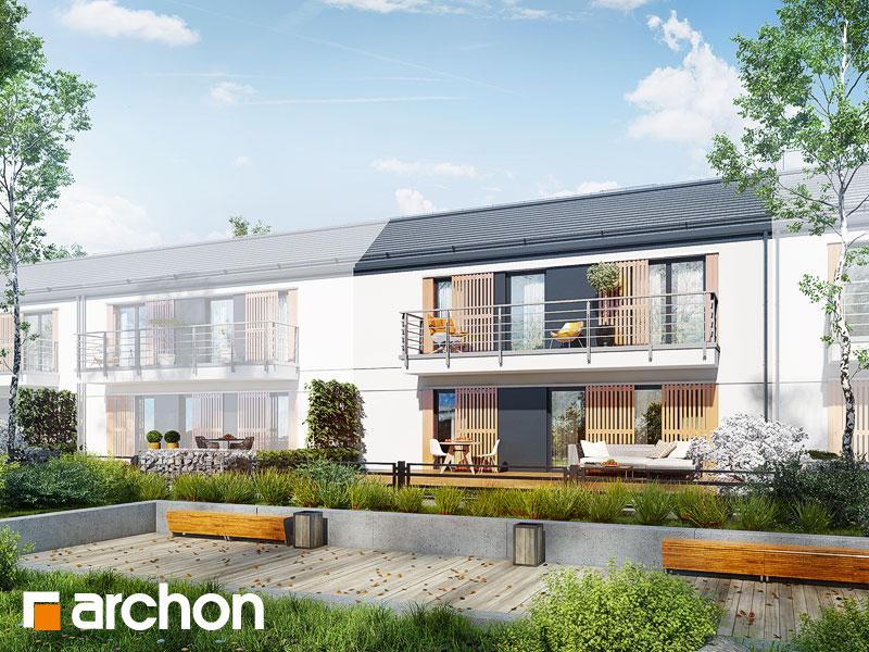 gotowy projekt Dom w halezjach (R2S) widok 1