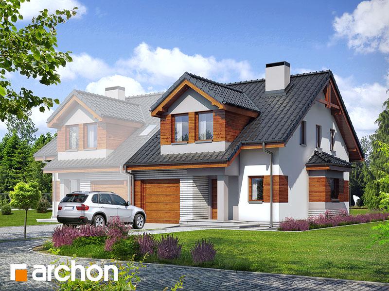 gotowy projekt Dom w klematisach 9 (BT) widok 1
