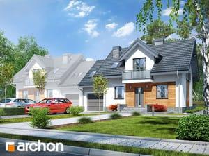 projekt Dom w perłówce (BN)