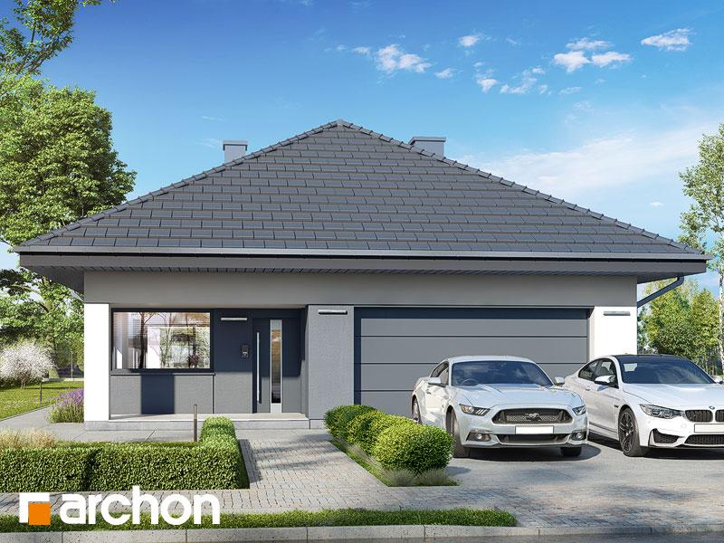 gotowy projekt Dom w cieszyniankach 11 (G2) widok 1