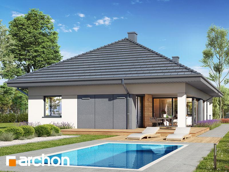 gotowy projekt Dom w cieszyniankach 11 (G2) widok 2