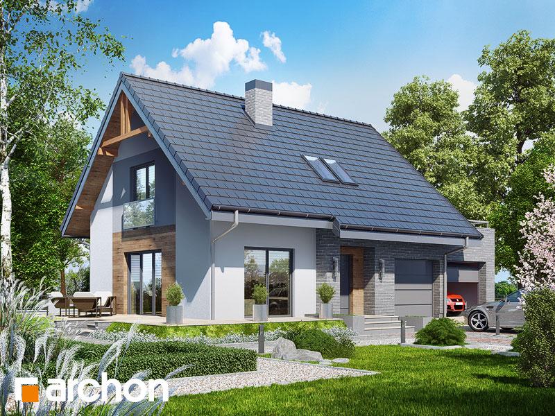 gotowy projekt Dom w lucernie 4 (G2) widok 1