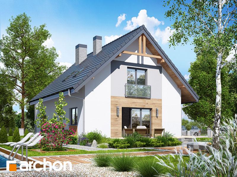 gotowy projekt Dom w lucernie 4 (G2) widok 2