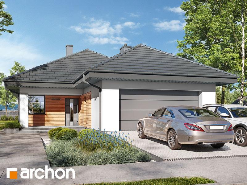 gotowy projekt Dom w modrzewnicy 7 (G2) widok 1