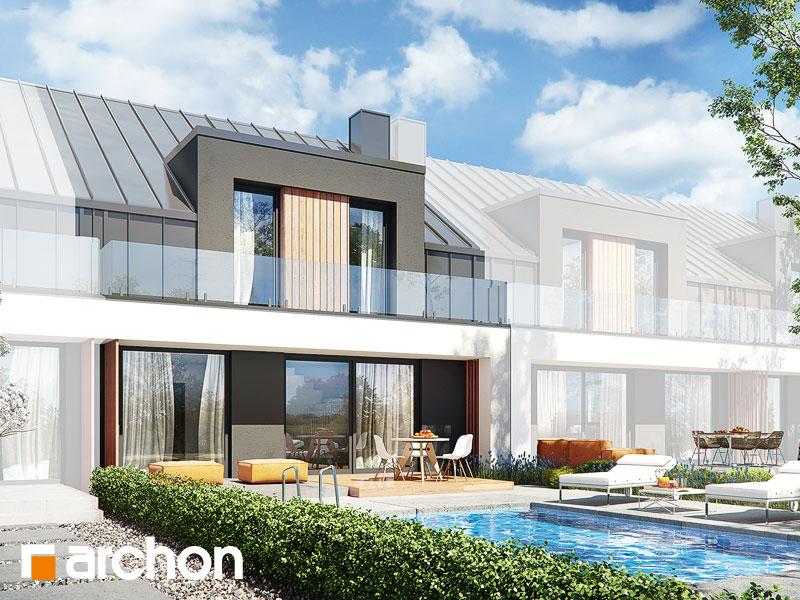 gotowy projekt Dom w klematisach 27 (S) widok 1