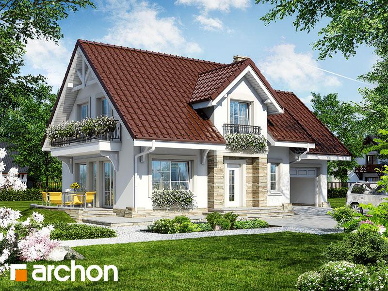 Projekt Domu Dom W Lantanach Archon