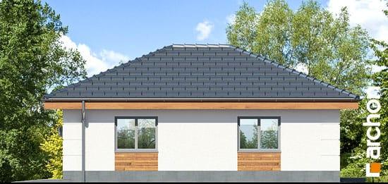 Elewacja boczna projekt garaz 1 stanowiskowy g24  265