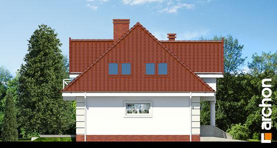 Elewacja boczna projekt dom w glicyniach ver 2  266