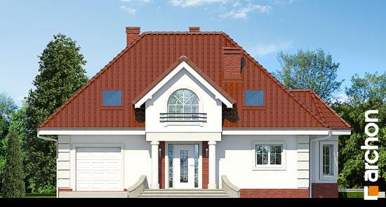 Elewacja frontowa projekt dom w glicyniach ver 2  264