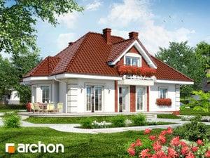 projekt Dom w glicyniach widok 2