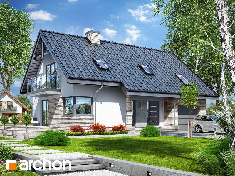 projekt Dom pod liczi 5 (P) widok 1