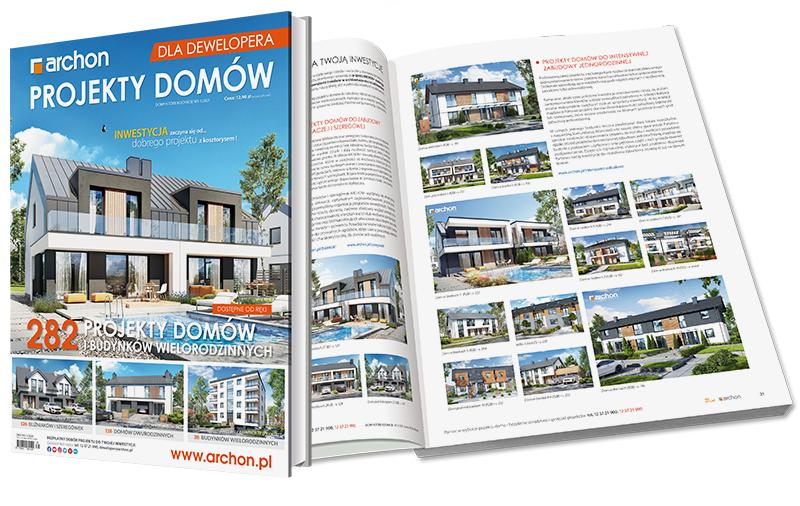 Katalog projektów domów dla deweloperów
