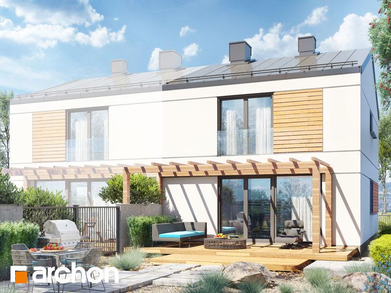 gotowy projekt Dom w tunbergiach 2 (B) widok 2