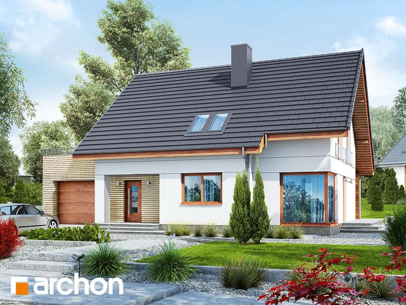 gotowy projekt Dom w cytryńcach 2 widok 1