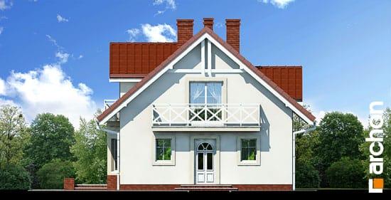 Elewacja frontowa projekt dom w rododendronach ver 2  264