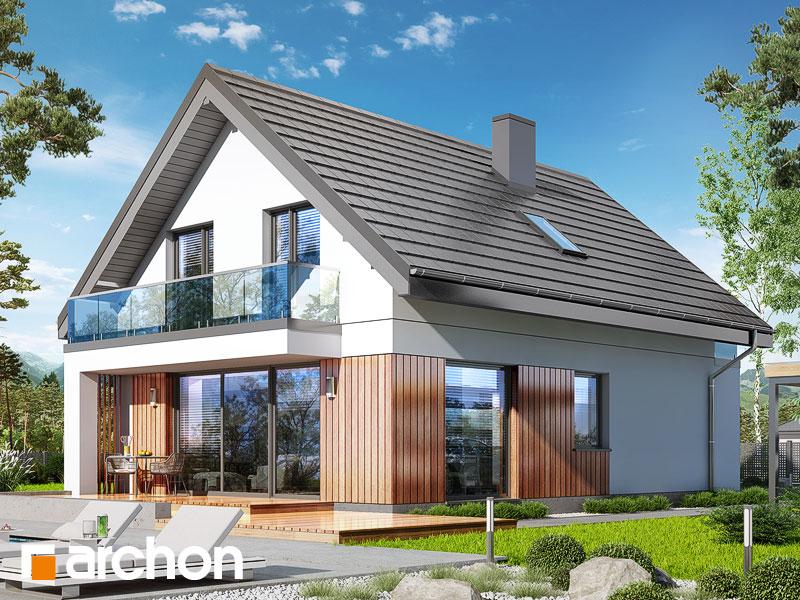 gotowy projekt Dom w sasankach 4 widok 1