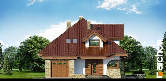 Elewacja frontowa projekt dom w zefirantach ver 2  264