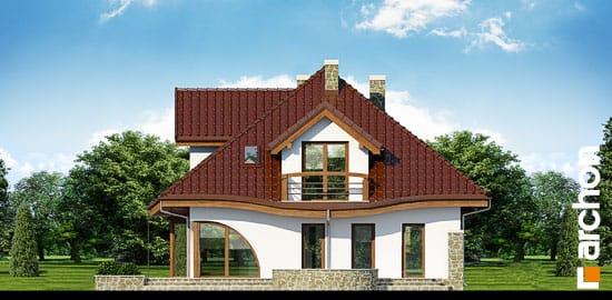 Elewacja ogrodowa projekt dom w zefirantach ver 2  267