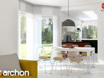 projekt Dom w zefirantach Aranżacja kuchni 1 widok 1
