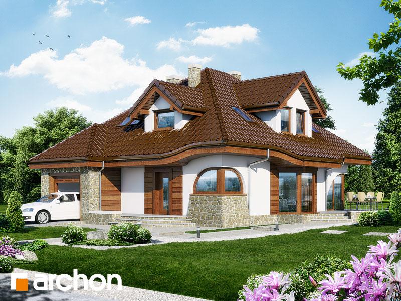 gotowy projekt Dom w zefirantach widok 1