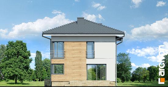 Elewacja boczna projekt dom w mircie 5  265