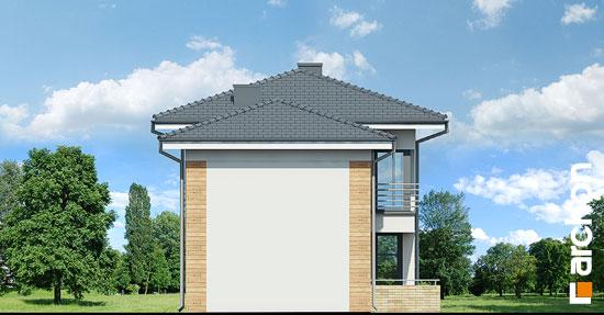 Elewacja boczna projekt dom w mircie 5  266
