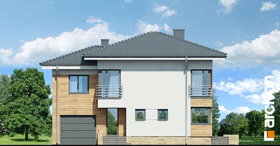 Elewacja frontowa projekt dom w mircie 5  264