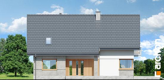 Elewacja frontowa projekt dom w aurorach 5  264