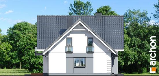 Elewacja boczna projekt dom w orliczkach g2  265