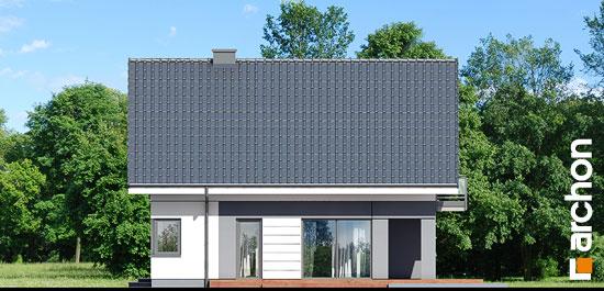 Elewacja boczna projekt dom w orliczkach g2  266
