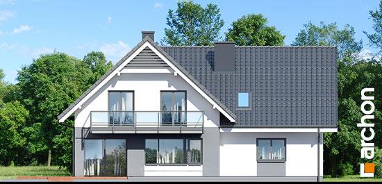 Elewacja ogrodowa projekt dom w orliczkach g2  267