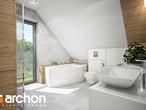 projekt Dom w orliczkach (G2) Wizualizacja łazienki (wizualizacja 3 widok 1)