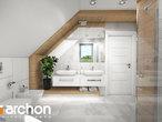 projekt Dom w orliczkach (G2) Wizualizacja łazienki (wizualizacja 3 widok 2)