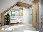 projekt Dom w orliczkach (G2) Wizualizacja łazienki (wizualizacja 3 widok 3)