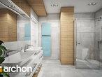 projekt Dom w orliczkach (G2) Wizualizacja łazienki (wizualizacja 3 widok 4)