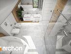 projekt Dom w orliczkach (G2) Wizualizacja łazienki (wizualizacja 3 widok 5)