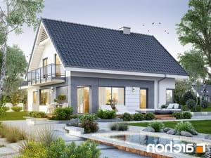 projekt Dom w orliczkach (G2) lustrzane odbicie 2
