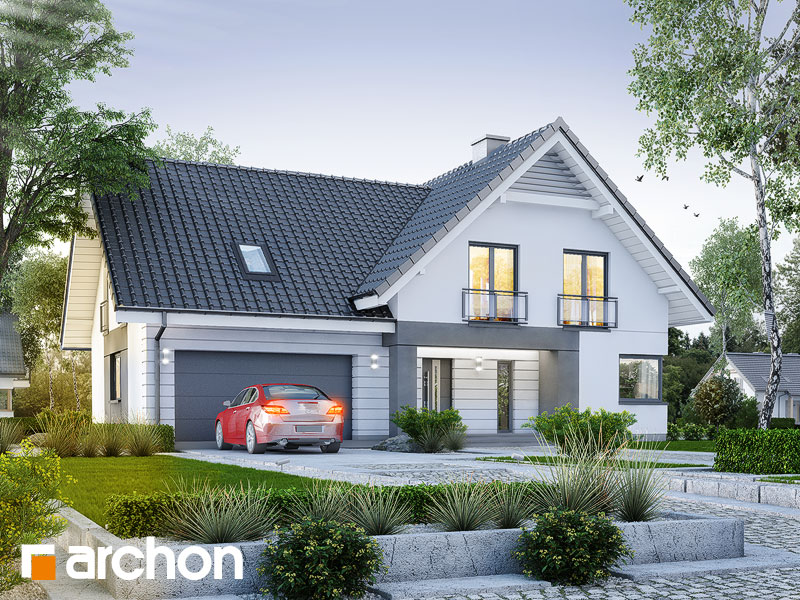gotowy projekt Dom w orliczkach (G2) widok 1