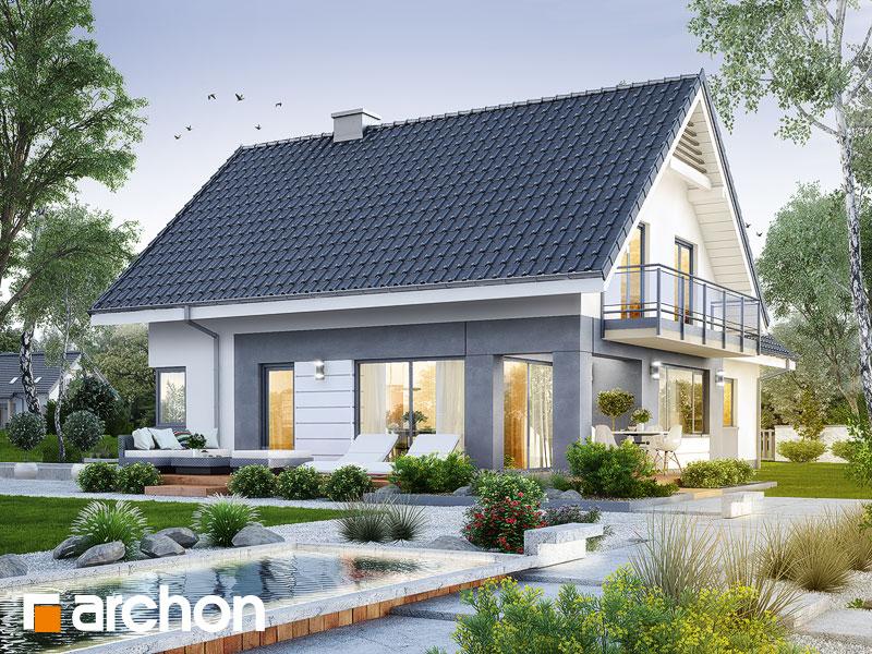 gotowy projekt Dom w orliczkach (G2) widok 2