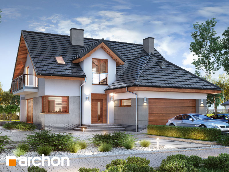 gotowy projekt Dom w kaczeńcach (G2) widok 1