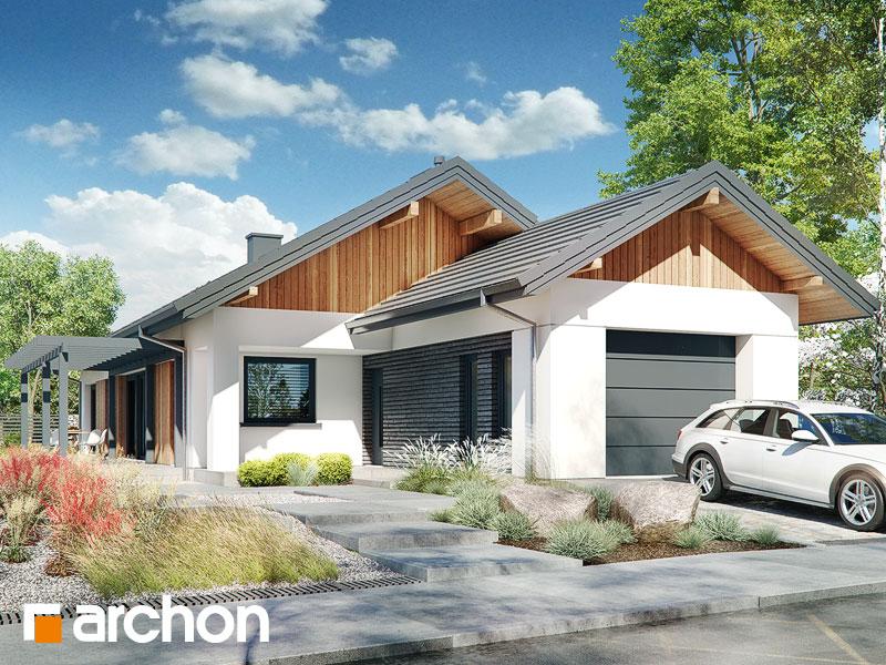 gotowy projekt Dom w brodiach 2 widok 1